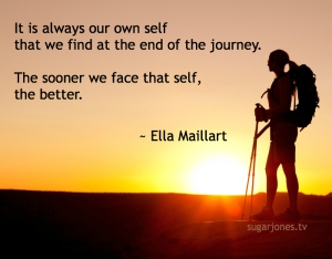 hiker-at-sunset-with-journey-quote