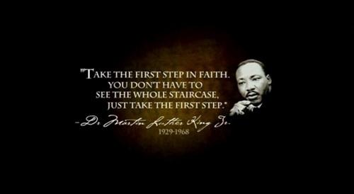 Bildergebnis für martin luther king steps staircase quotes