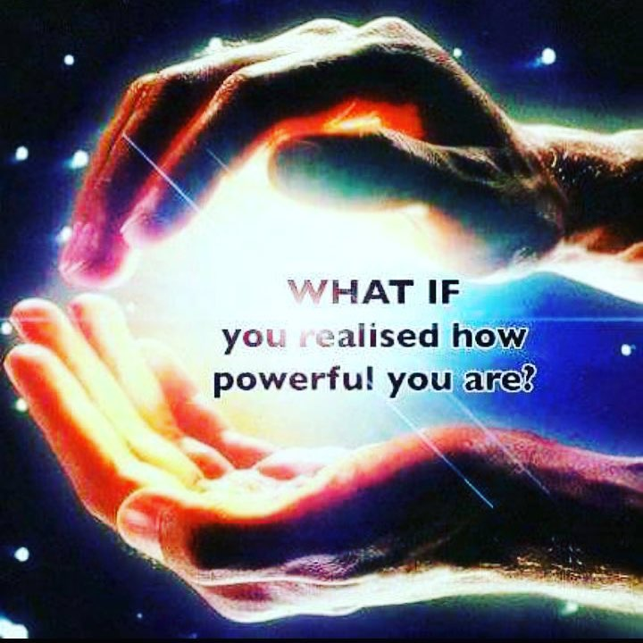 Bildergebnis für what if you realize how powerful you are