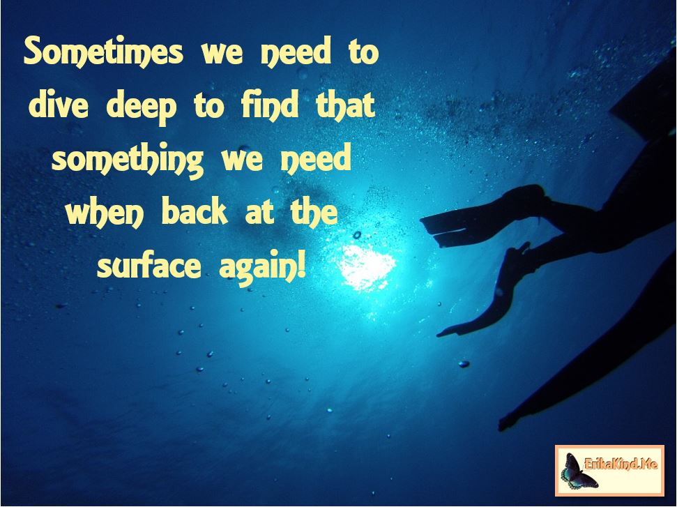We need to dive deep to find what we need